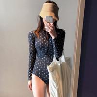 Baju renang lengan panjang diving wanita bikini swimwear
