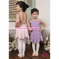 Chiffon Ballet Dress Baju Ballet Anak cantik dan berkualitas