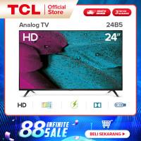 TCL LED TV 24 inch-HD ready TV-HDMI-USB-Headphone-Antenna-AV IN 24B5