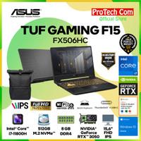 ASUS TUF F15 FX506HC i7-11800H 8GB 512GB RTX3050 4GB OHS W10 144Hz