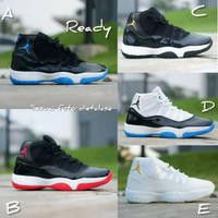 Sepatu Basket Nike High Air Jordan 11 Sepatu Olahraga pria wanita