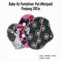 Baby-oz menspad Panty/Pantyliner Baby-oz/Pembalut Kain/PantylinerMurah