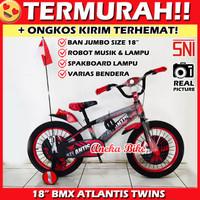 Sepeda Anak BMX 18 Inch Atlantis Ban Jumbo Besar