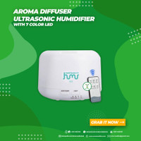 Ultrasonic Aroma Diffuser Humidifier Air Purifier 7 Color LED