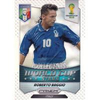 2014 Panini Prizm World Cup Stars Silver Roberto Baggio #44 CC2-049