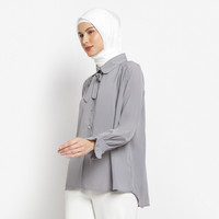 Baju Atasan Muslim Wanita Le Najwa Clarissa Kemeja - Nobel