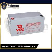 Aki Kering VRLA 12V 150 Ah Deep Cycle Voz - Baterai VRLA Panel Surya