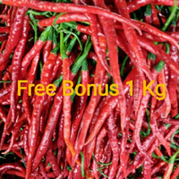 Cabe Merah Keriting + Gratis Bonus
