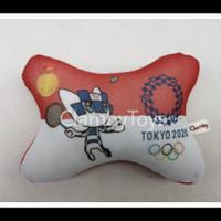 Bantal Leher Bantal Headrest - Olimpiade