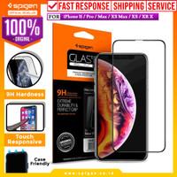 Tempered Glass iPhone 11 / Pro / Max / XS Max / XS / XR X Spigen Full