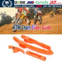 Chin Chain Slider Guard Swingarm Guide For KTM Motorcycle Dirt Bike