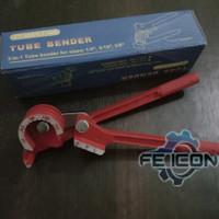 (FE)Alat tekuk Pipa besi Manual pipe Bender 3.6.8.mm