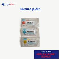 Suture plain