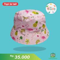 Topi Bucket Anak/ Topi Bucket Bayi/ Topi face Shield Anak