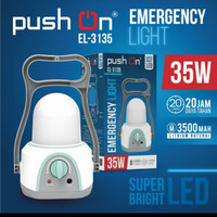 Lampu Emergency / Lentera Emergency 35 watt PUSH ON EL-3135