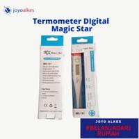 Thermometer digital magic star