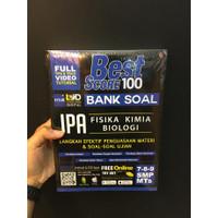 Buku Best Score 100 Bank Soal IPA Latihan Soal SMP kelas 7-8-9