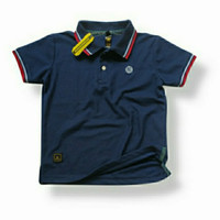 polo shirt anak/kaos anak laki - S