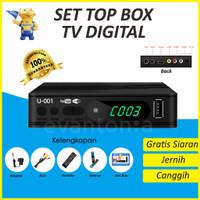 Set Top Box DVB-T2 Digital Satellite TV Tuner Box Receiver 1080P