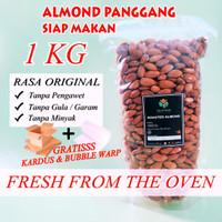 Almond Panggang 1 Kg - Roasted Almond
