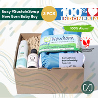 Sustaination Hampers Bayi Newborn - Kado Lahiran (4pcs)