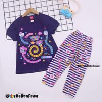 Setelan LOL uk 2-3 Tahun / Baju Anak Karakter Legging Perempuan