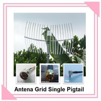Antena Grid Single Pigtail Penguat Sinyal Internet Kabel 15 Meter
