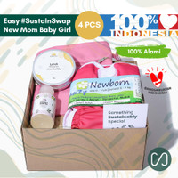 Sustaination Hampers New Mom - Kado Ibu Baru & Lahiran (4pcs)