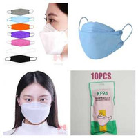 Masker KF94 KOREAN 4Ply 10pcs Bisa di cuci