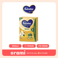 ORAMI - Bebelac Gold 3 Soya Vanilla 700g