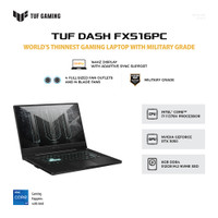 ASUS LAPTOP TUF DASH F15 FX516PC-I735B6T-O i7-11370H 8GB 512GB RTX3050