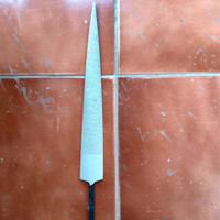 kikir kayu setengah bulat/ half round lancip 12 in sword fish
