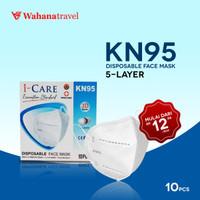 ICARE KN95 Masker 1 box isi 10 pcs (dalam kemasan plastik )