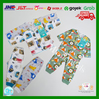 Baju bayi new born ( 0-3 bulan) libby baby setelan panjang isi 3