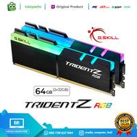 RAM 64GB GSKILL TridentZ RGB 2x32GB DDR4 3600 1.35v F4-3600C18D-64GTZR