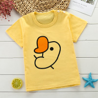 Baju Kaos Anak Import Bahan Katun Combed 30s Premium Gambar Anak Ayam
