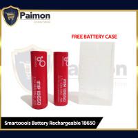 Baterai IMR 18650 3000mAh Isi 2 - FREE BATTERY CASE