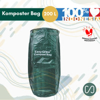 Sustaination Karung Kompos Sampah Kering - Easy Grow Compost Bag