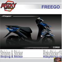 STRIPING STICKER MOTOR FREEGO |LIS COVER | LIS BODY | VARIASI MOTOR
