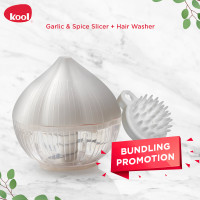 kool Garlic Spice Slicer x Hair Washer Bundling Promotion