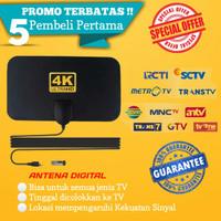 Antena TV Digital Indoor Antenna Tempel Dinding Antene Analog Taffware