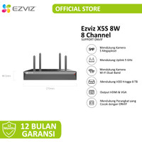 Ezviz Wireless NVR X5S 8Channel 1080p H.265 Garansi Resmi