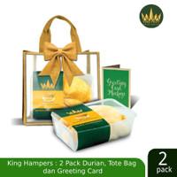 KING FRUIT Christmas Package Isi 2pcs Super Montong + Parcel Box