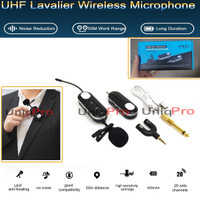 Microphone Mic Clip On Wireless N81 VLOG Smartphone HP Podcast Zoom