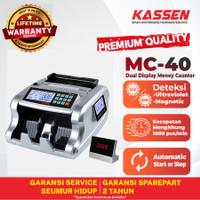 MESIN PENGHITUNG UANG KASSEN MC 40 MONEY BILL COUNTER MC 40
