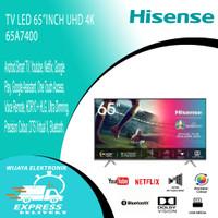 TV LED 65 INCH HISENSE 65A7400 UHD 4K SMART TV