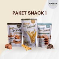 Paket Snack 1 (Cookies & Grissini)