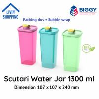 Botol Air Minum Plastik Scutari 1300 ml