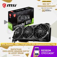 MSI GeForce RTX 3070 Ti VENTUS 3X OC 8GB GDDR6X - VGA RTX3070TI DDR6X
