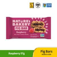 Fig Bar Raspeberry 57g / Camilan panggang buah Raspeberry / Pie Vegan
